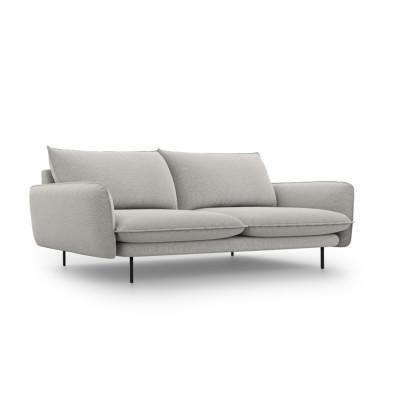 Sofa VIENNA   4 Sitze   Hellgrau