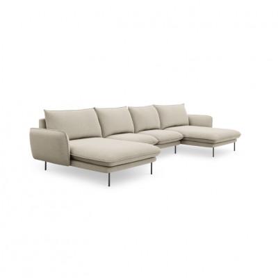 Sofa VIENNA   6 Sitze   Hell Beige