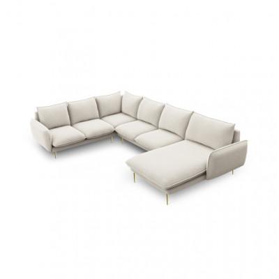 Sofa VIENNA   7 Sitze   Hell Beige