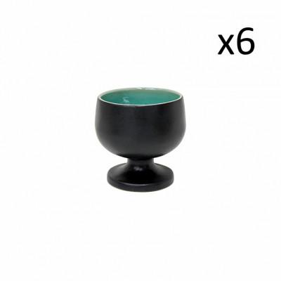 Schüssel an der Fußriviera 6er-Set | Azure