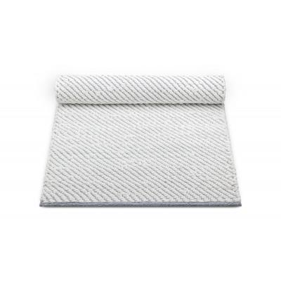 Regenteppich | Weiß & Grau