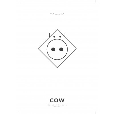 Poster A3 | Cow