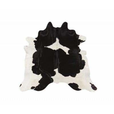 Cowhide   Hairon Black White
