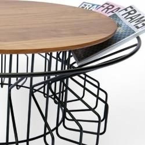 Amarant Coffee Table   Black