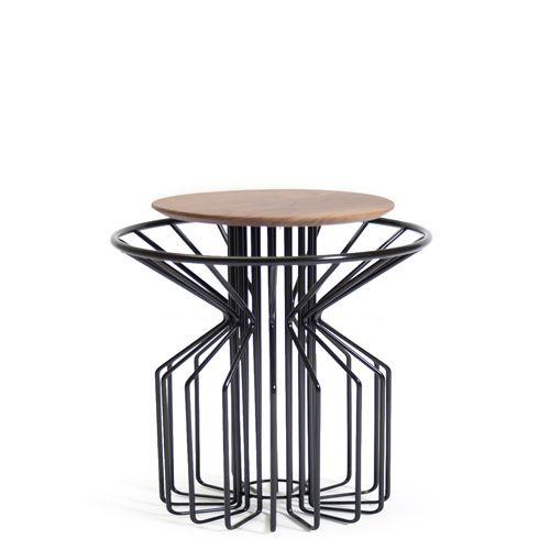 Amarant Coffee Side Table | Black