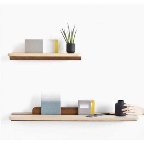 Oak Shelf U Shape 50cm