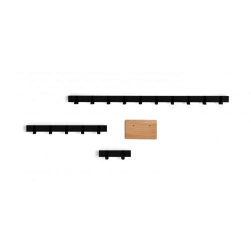 Random Coatrack by the Meter   Black