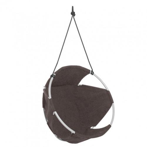 Cocoon Hang Chair | Wool | Brown