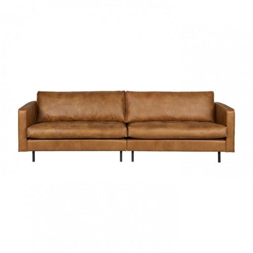 3er-sofa Classic Rodeo | Cognac