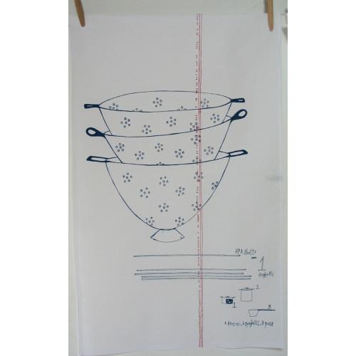 Tea Towel Collander