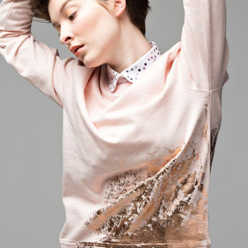 Sweater | Old Rose - Bronze - Loin