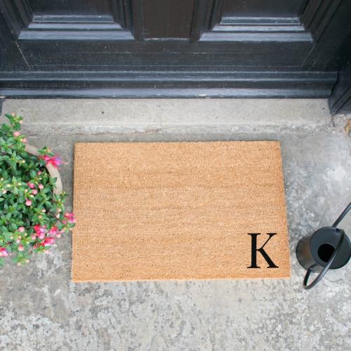 Fußmatte Doormat Monogram Corner Straight | K