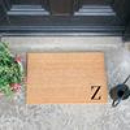 Fußmatte Doormat Monogram Corner Straight | Z