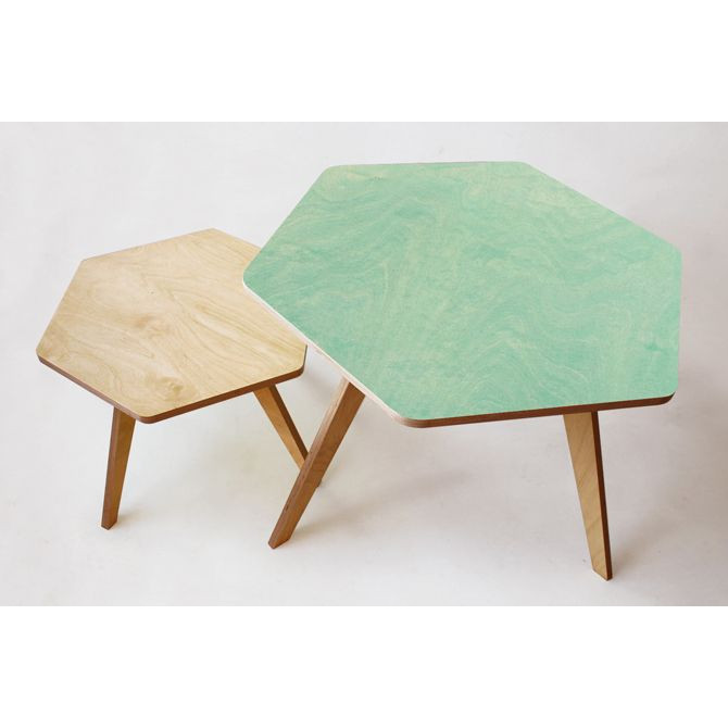 Coffee Companions Table | Natural Birch