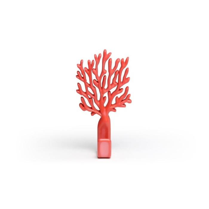 Wandhaken Koralle | Rot