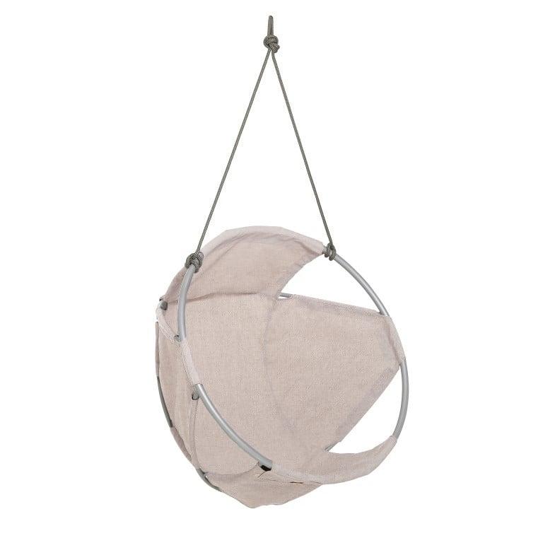 Cocoon Hang Chair   Wool   Beige