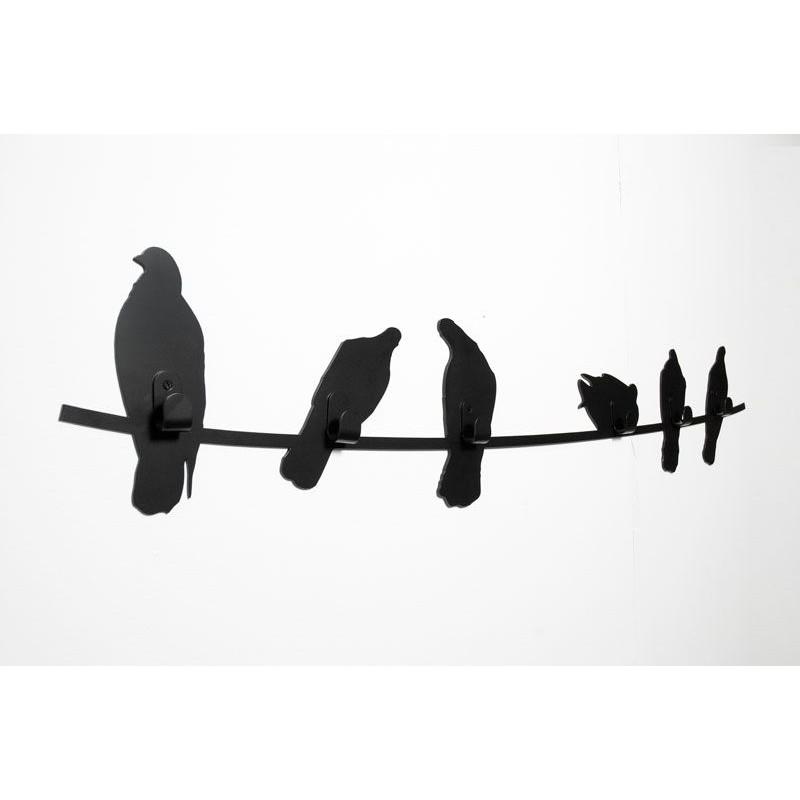 Kapstok Birds on Wire