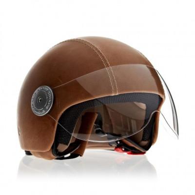 Helmet Vintage Visor A | Light Brown