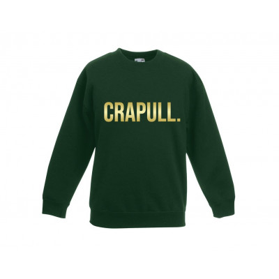 Kinderpullover Crapull | Grün