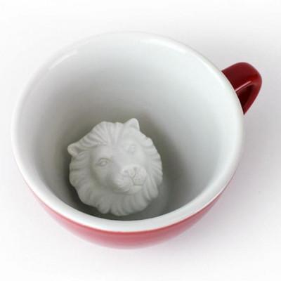Tasse Creature Cup Löwe | Rot