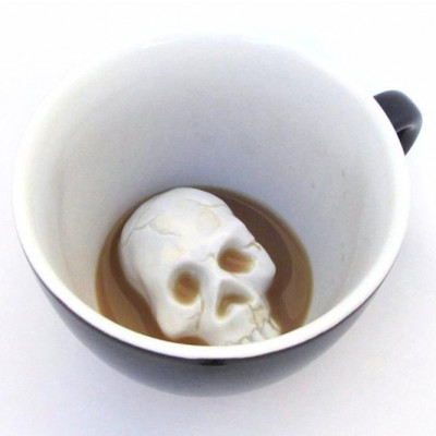 Tasse Creature Cup   Schädel