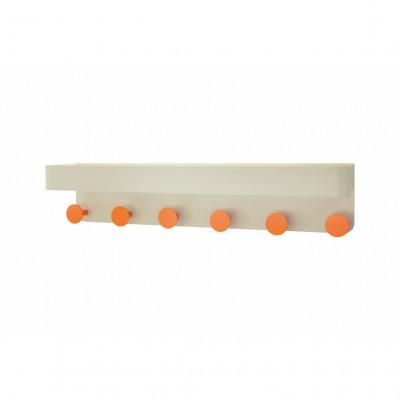 Wall Coat Rack Oval | Cream