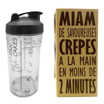Pfannkuchenteig-Shaker
