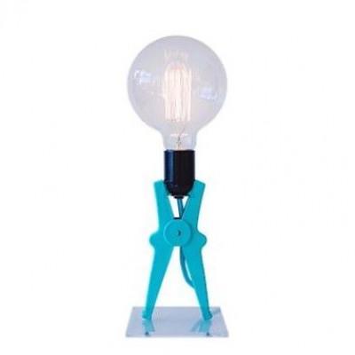 Croco Lamp | Turquoise