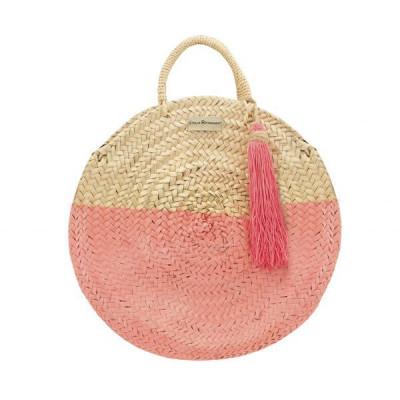 Round Palm Handbag | Coral