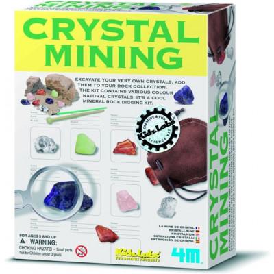 Wissenschaftskit Kristallbergbau