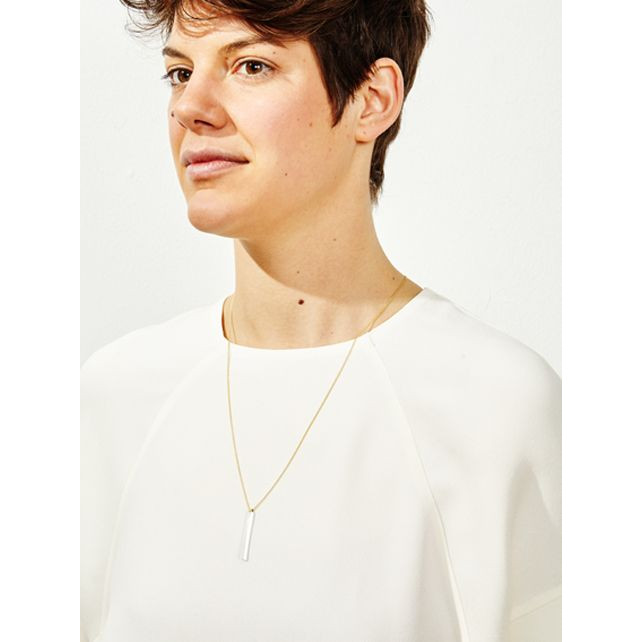 CRYSTALS Necklace 1 | Transparent, Gold