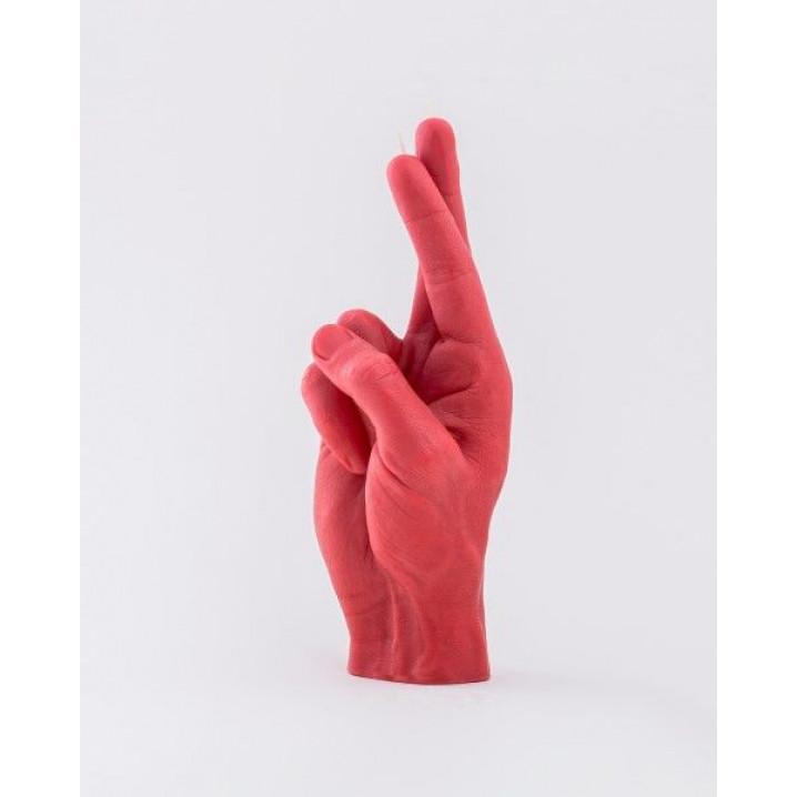 CandleHand | Gekreuzte Finger