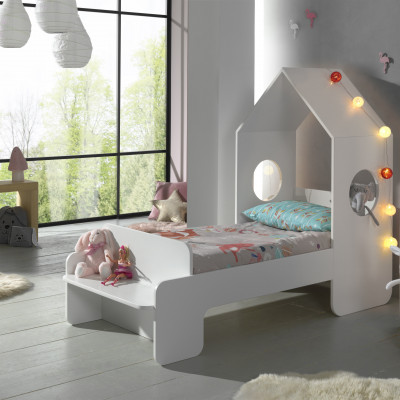 Hausbett Casami | 140 x 70 cm | Weiß