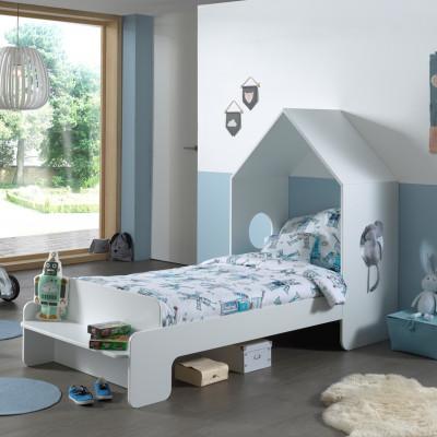 Hausbett Casami | 140 x 90 cm | Weiß