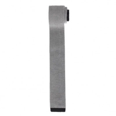 Knitted Tie   Black & White