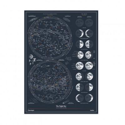 Poster Der Chartologe | Nachthimmel