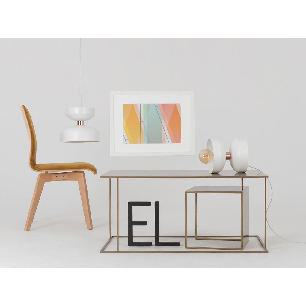 Coffee Table Walt 100 x 60 cm | Gold