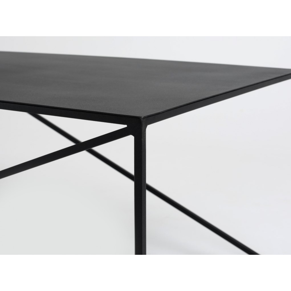 Coffee Table Memo 100 x 60 cm   Black