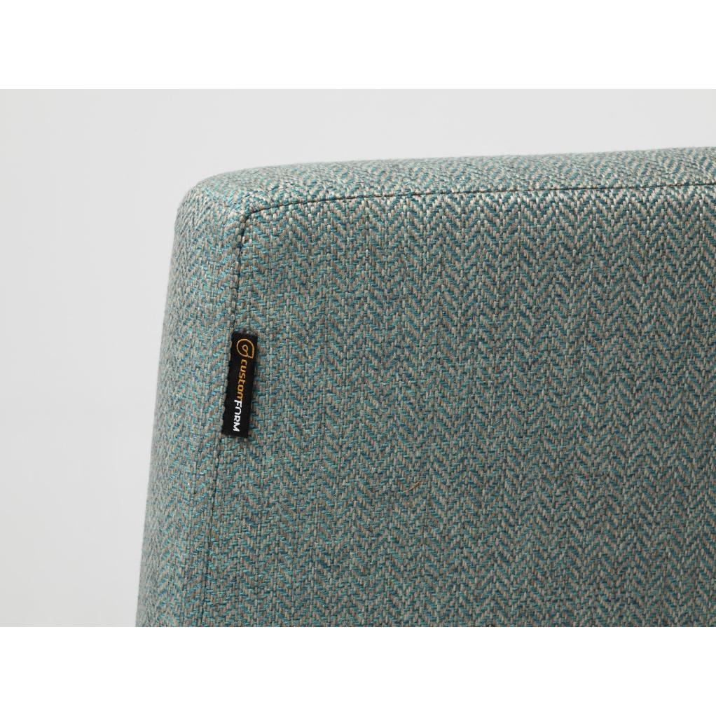 Sessel Zero | Turquoise & Schwarze Beine