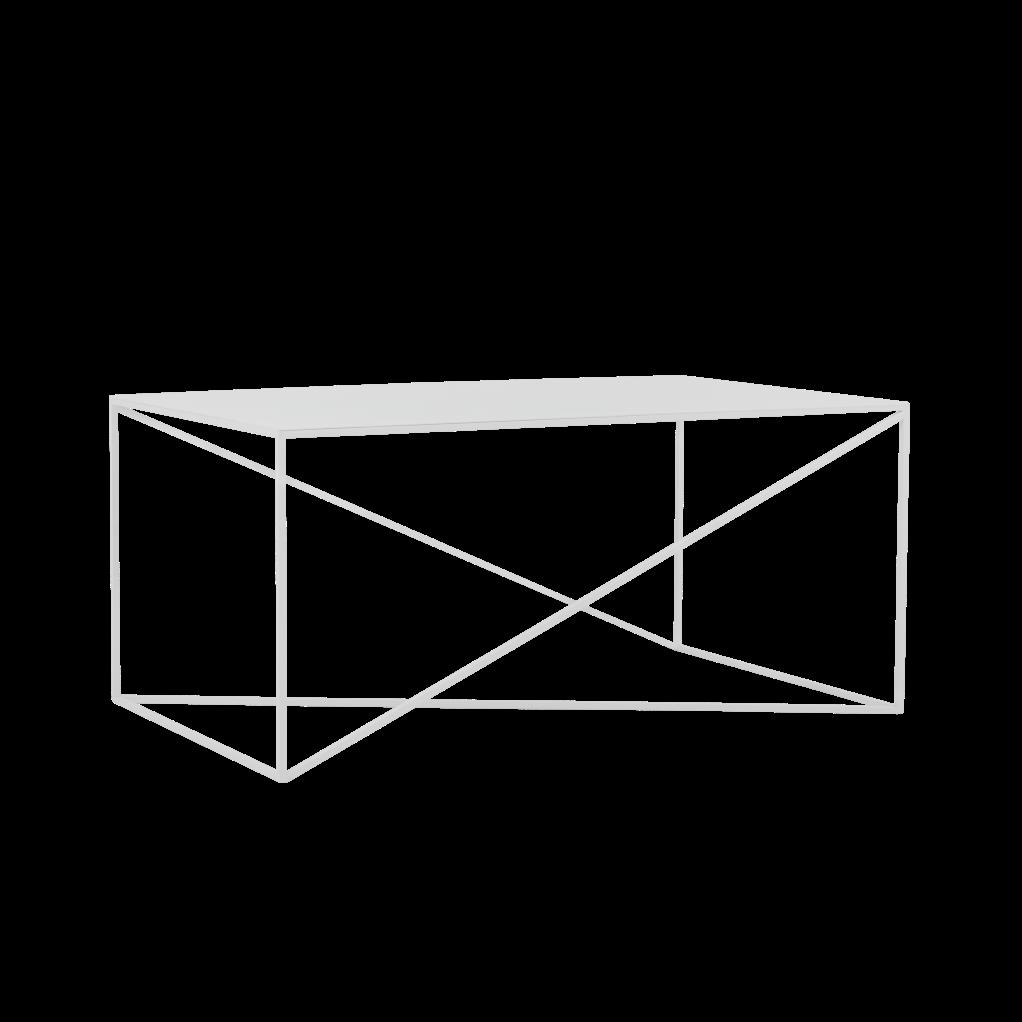 Coffee Table Memo 100 x 60 cm | White