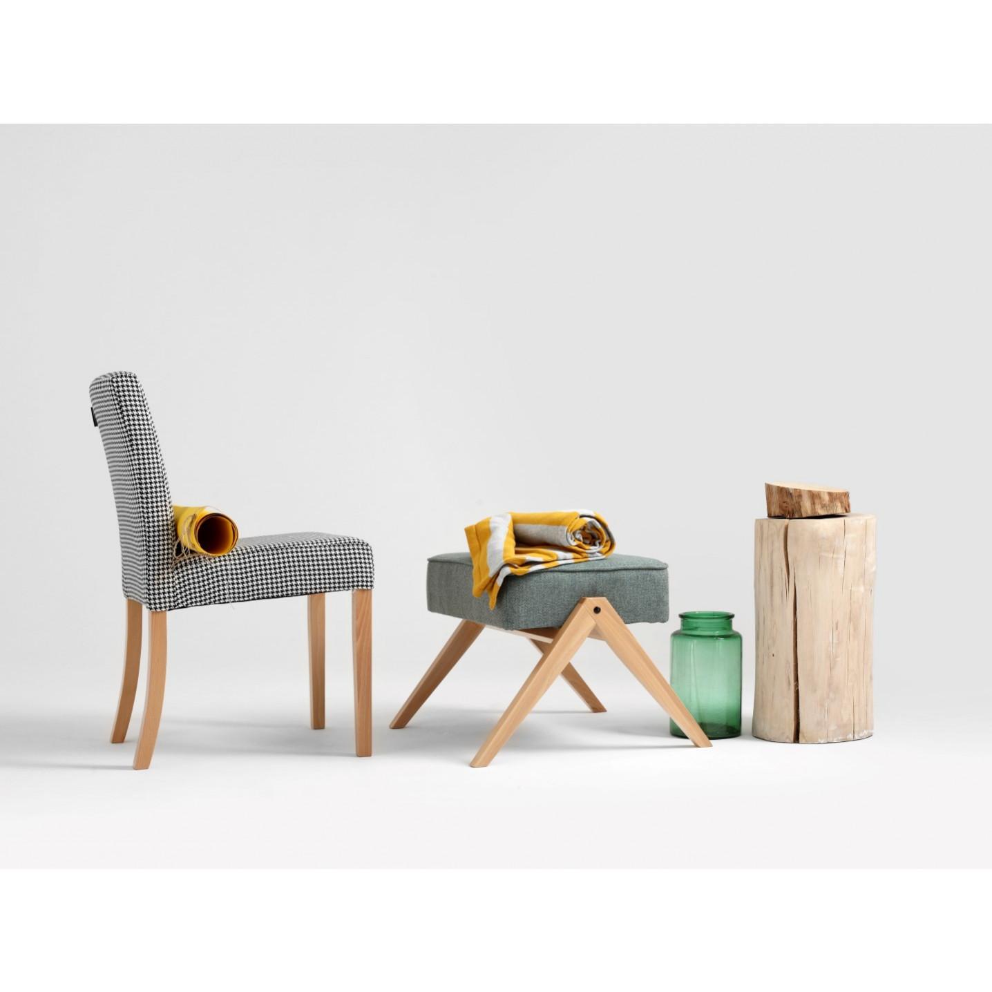 Footstool Vinc | Turquoise
