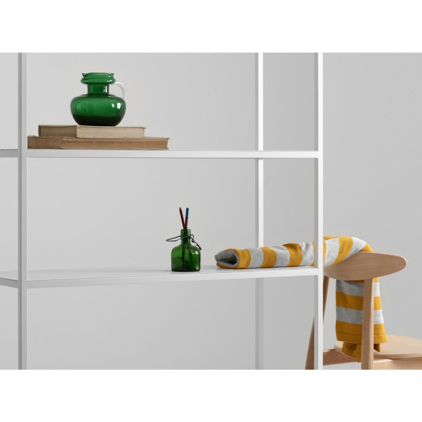 Bookcase Hyller 100 x 180 cm | White