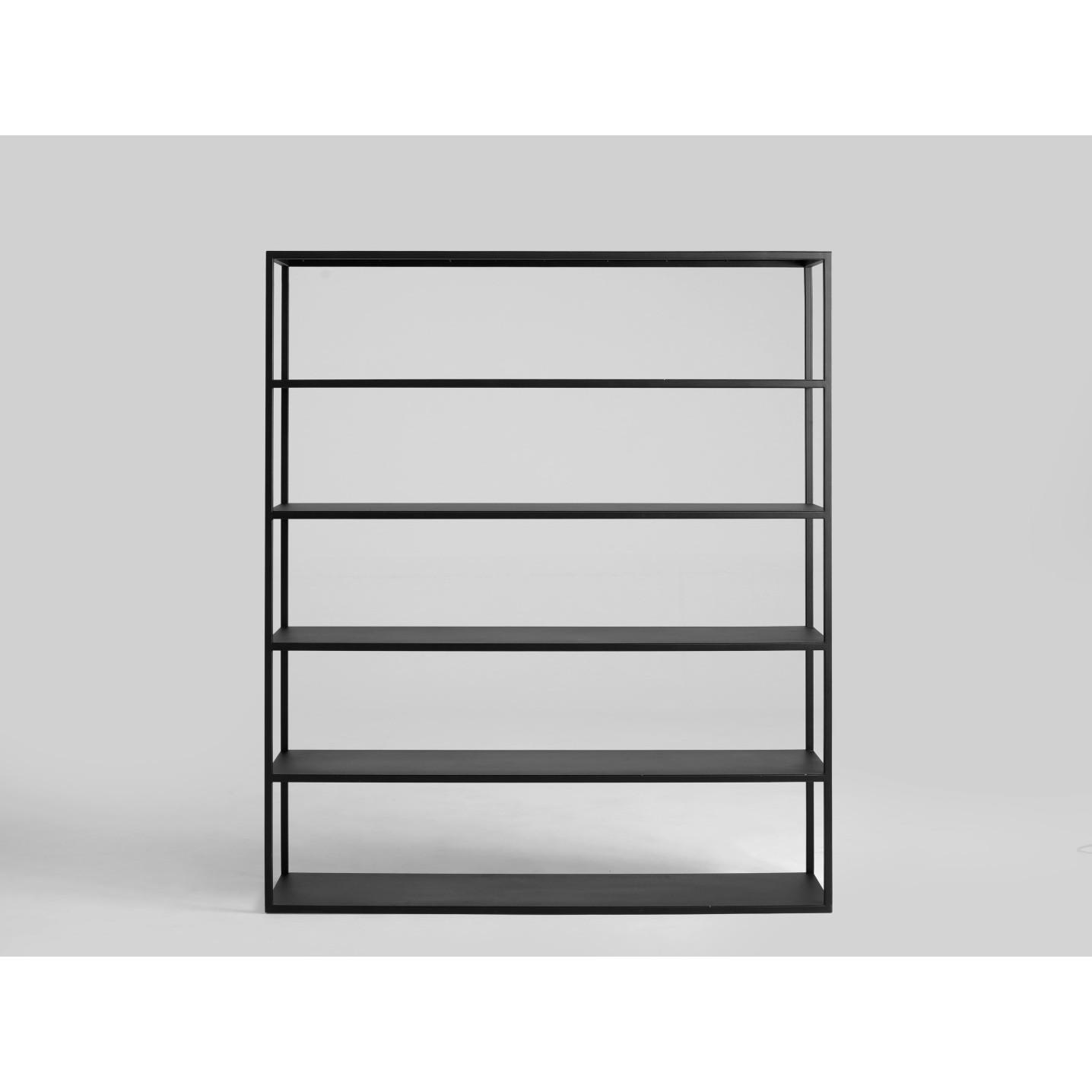 Bücherregal Hyller 150 x 180 cm | Schwarz