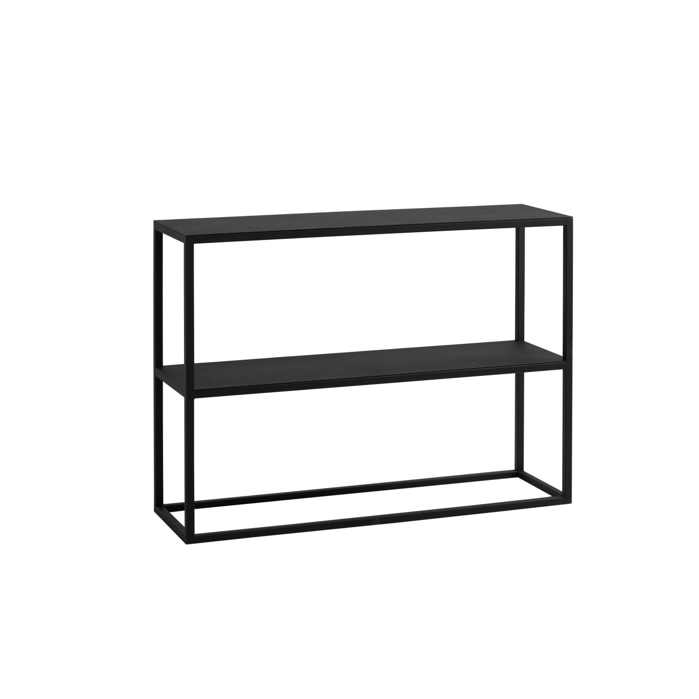 Rack Julita 75 cm 2 Shelves | Black