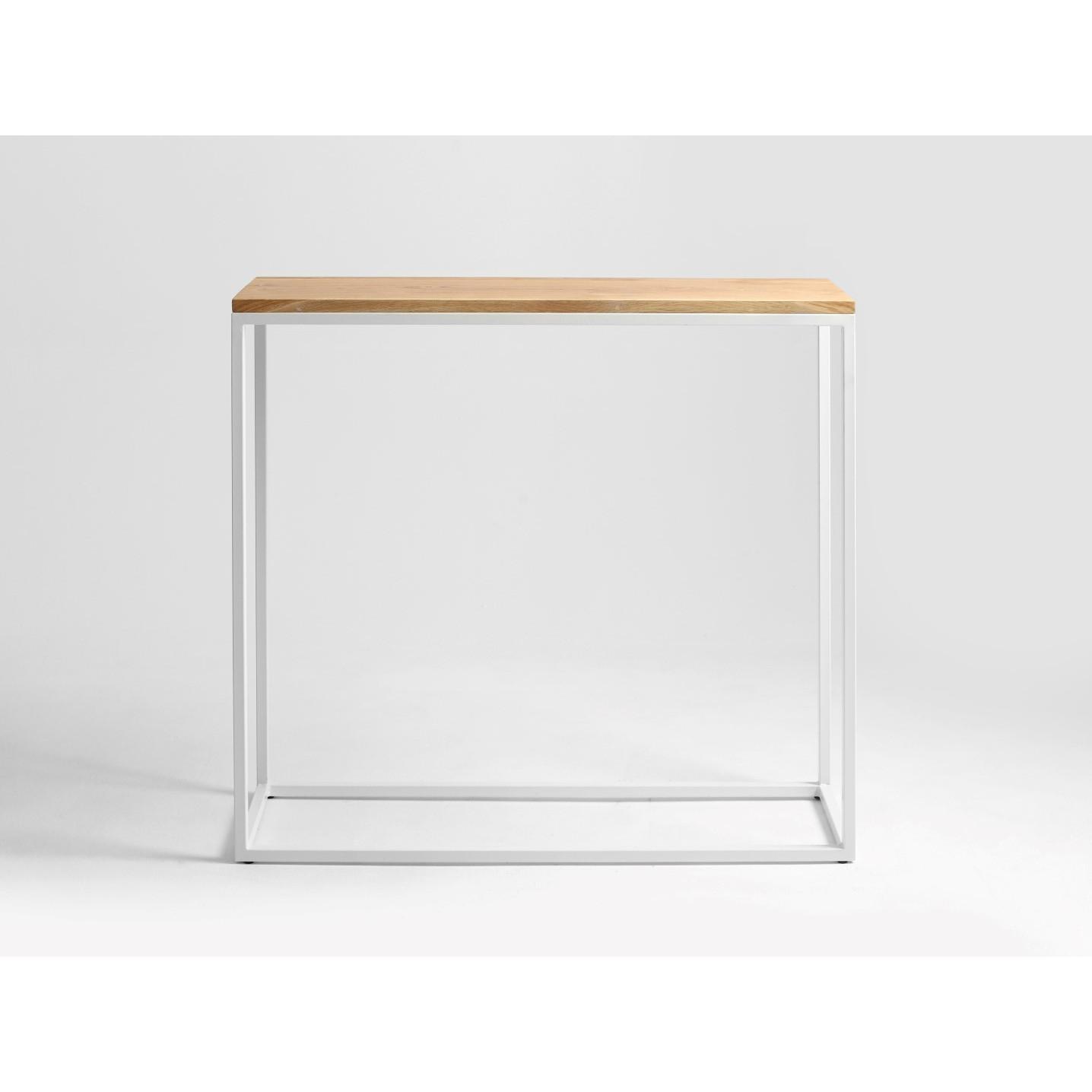 Rack Julita 92 cm | Oak/White