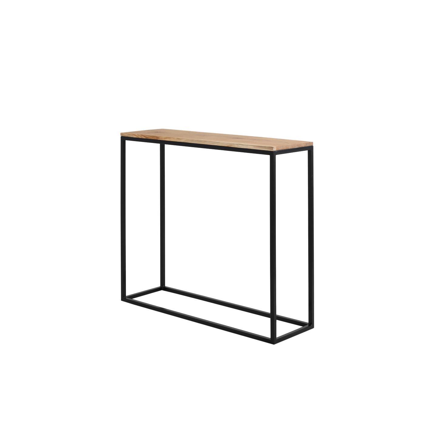 Rack Julita 92 cm | Oak/Black