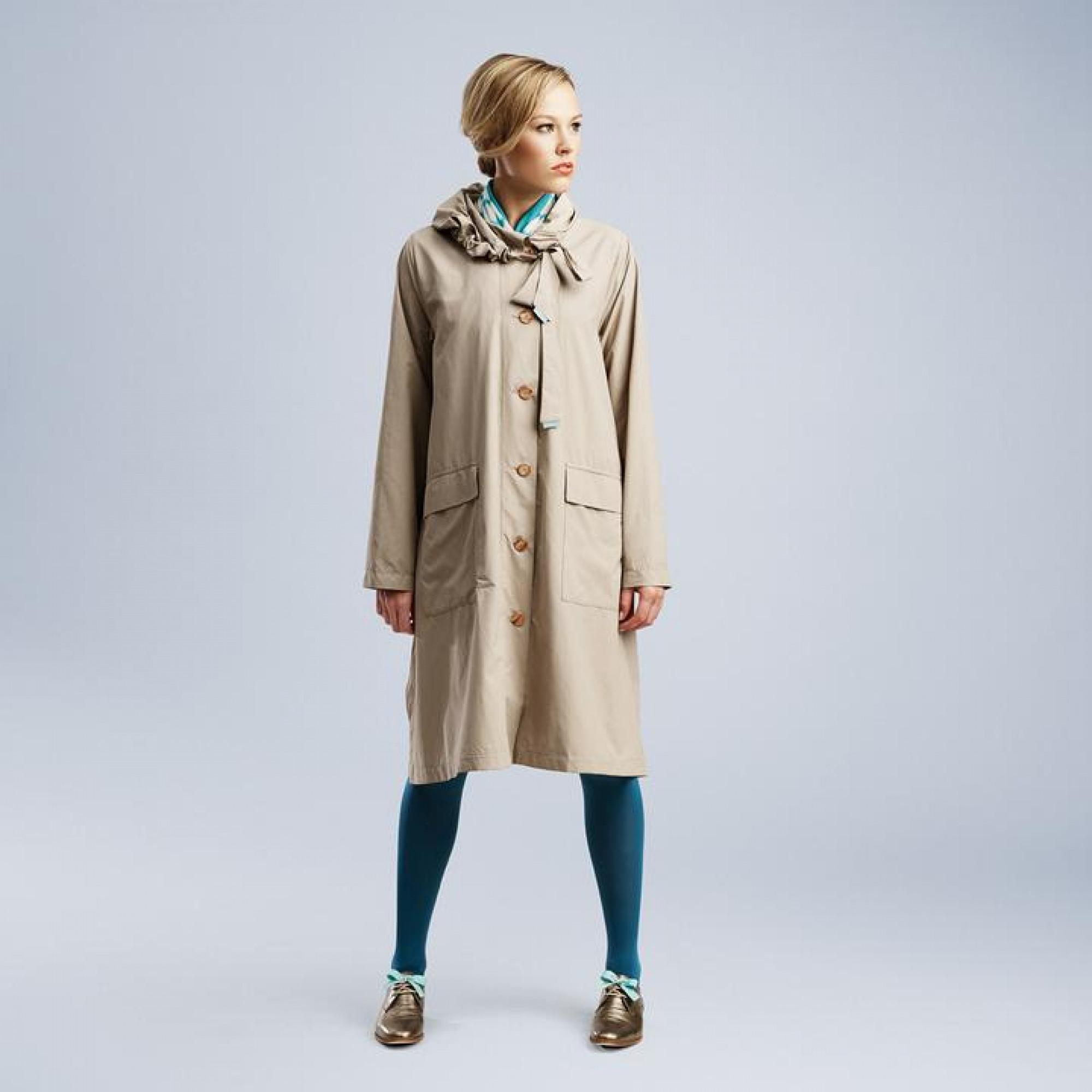 Raincoat   The Classic Green