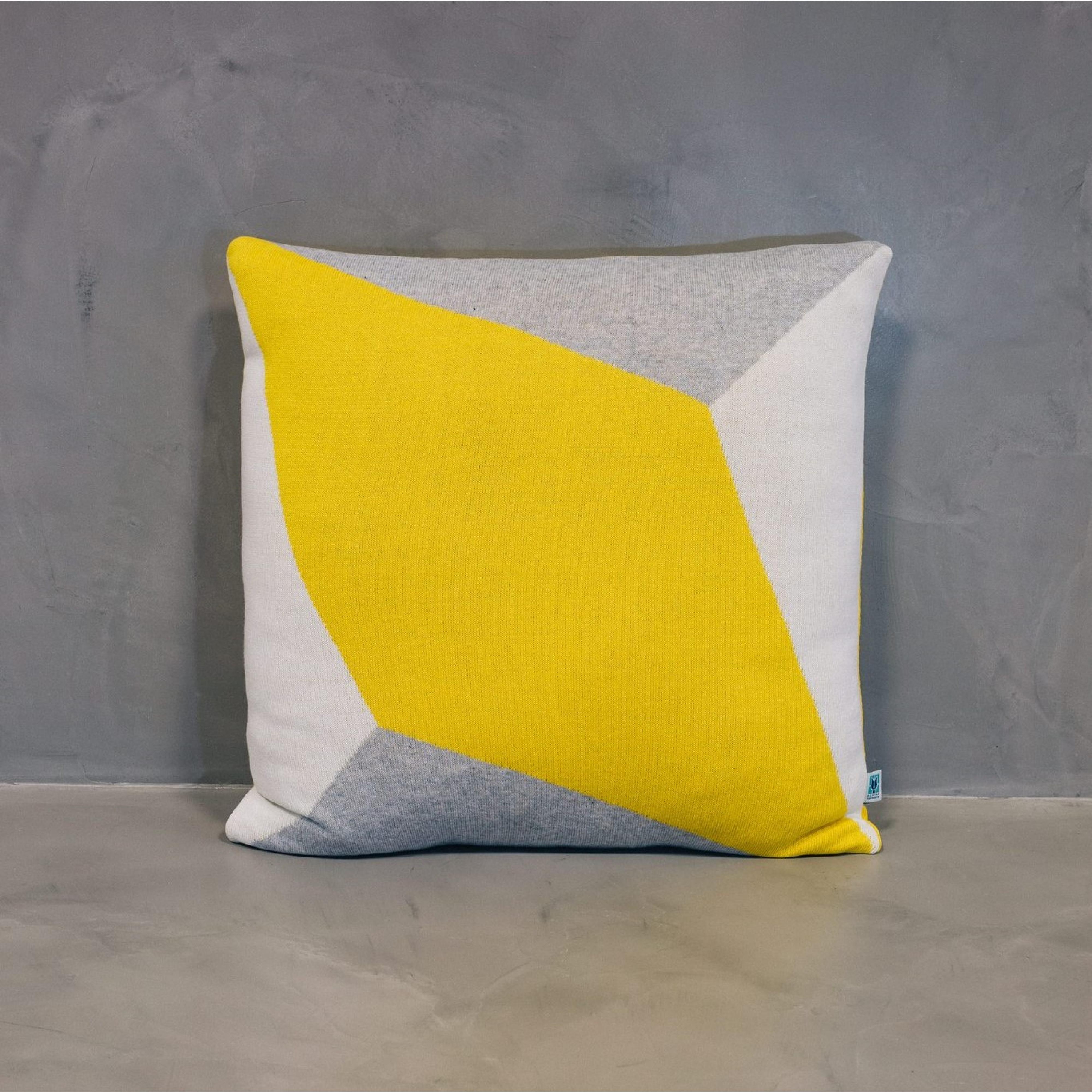 Cushion Cover Lisboa Grande | Yellow