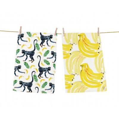 Geschirrtücher Bananenfächer 2er-Set