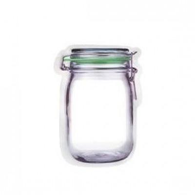 Mason Jar Reißverschlusstasche   Extra klein